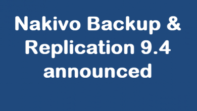 Photo of Nakivo Backup & Replication 9.4 announced