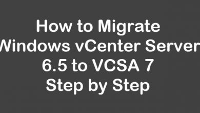 migrate windows vcenter 6.5 to vcsa 7